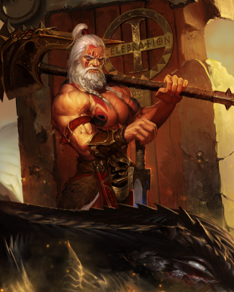 Barbarian gay art sex pic